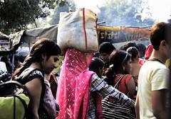 Monday Market, Agra, India (marcomuccioli) Tags: street woman india beautiful photography market agra monday pradesh uttar