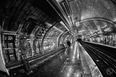 Marcadet Poissonniers (c'estlavie!) Tags: paris france subway nikon metro mtro perspective fisheye hdr seconde metroparisien mtroparisien greatphotographers flickraward marcadetpoissonniers nikonflickraward flickrunitedaward jesuisparis