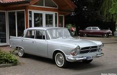 The last Borgward (Schwanzus_Longus) Tags: classic beauty car sedan vintage silver germany nice parking lot german vehicle oldtimer saloon coupe coupé borgward p100 bruchhausen vilsen