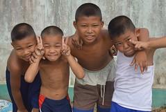 brothers (the foreign photographer - ) Tags: children thailand four nikon brothers bangkok lard bang bua khlong bangkhen d3200 phrao may142016nikon