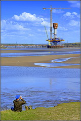 Spike Island (Widnes) Mersey Gateway Project  3rd May 2016 (Cassini2008) Tags: rivermersey merseylink merseygatewayproject