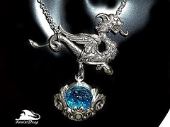 """pendant and earring one - clip on the left ear, """"Griffins blue lake"""" blue Moldovite Steampunk, Gothic, Victorian, Vintage style jewelry (fenixdrag) Tags: vintage necklace handmade griffin pendant naturalstone filigree longearrings handmadejewelry vintagejewelry vintagependant victorianjewelry gothicjewelry handmadependant moldovite earringshandmade creativeearrings steampunkjewelry victorianearrings gothicearrings steampunkpendant filigreependant victorianpendant gothicpendant earringsfiligree earringssteampunk earringsgriffin earringsmoldovite pendantgriffin pendantmoldovite"""