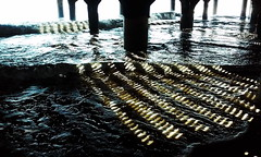 Strips, Atlantic City (lotos_leo) Tags: light shadow water pier newjersey outdoor nj shore atlanticcity strips атлантиксити