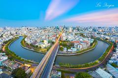 Hoàng hôn Saigon (Lư Quyền | 01239.369.779 |) Tags: city sunset skyline vietnam chi ho minh saigon hoàng hôn citycapse