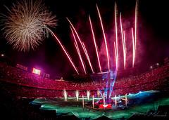 Ramn Snchez-Pizjun (auriolesPhoto) Tags: color luz night noche sevilla campo futbol sfc uefa fuegosartificiales fuegos uel sevillafc rsp ramonsanchezpizjuan biris pizjuan