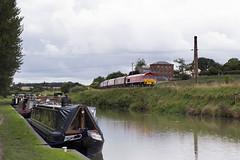 59201 on Merehead-Theale Foster Yeoman at Crofton locks 03-Sept-15 (metrovick) Tags: railroad railway kennetandavoncanal emd class59 fosteryeoman 59201 croftonlocks jt26cw enterpriseloco