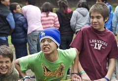 camp rope game faces (Pejasar) Tags: play faces cam competition games rope