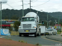 Sterling L-Line (TIMRAAB227) Tags: truck concrete mixer camion nsw sterling lseries daimlerbenz betonmischer lline westgosford