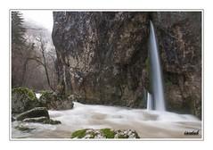Through the rock (iandub74) Tags: alps water alpes river pose waterfall nikon eau long exposure rivire exposition filter savoie cascade source haute crue filtre longue d90 caille cruseilles nd4 usses allonzier iandub iandub74