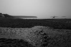 Slippery Stones (Tony McD) Tags: sea bw seascape boat sand nikon rocks stones trust nikkor slippery pwllheli aberdaron d610 2470 nationaltrustnational