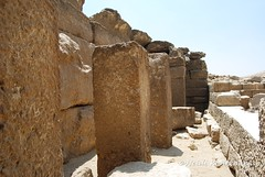 4th dynasty Mortuary Temple (konde) Tags: ruins giza ancientegypt menkaure mortuarytemple oldkingdom 4thdynasty