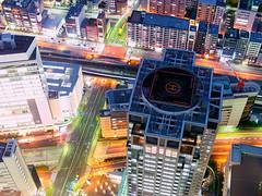 Night Flow (Ted Tsang) Tags: longexposure travel tower japan skyline night landscape cityscape nightscape olympus  yokohama kanagawa  minatomirai  landmarktower  em1 lighttrail       21  voigtlandernokton25mmf095