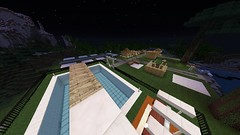 Subdivision from the High Diving Board at Night (GumbyBlockhead) Tags: diana denise mzmollytl gumbyblockhead terragrim liragrim phisagrim minecrafted etfot4t niecsa