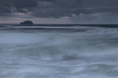 Tyninghame Swell (Tom_Drysdale) Tags: morning sea beach june rock surf waves fuji bass north wave east fujifilm swell lothian 2016 tyninghame