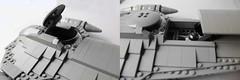 Cockpit and droid deployment (hachiroku24) Tags: star ship lego space wars phantom cruiser naboo menace moc afol