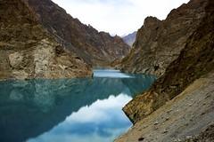 DSC3565  Deep! (najeebmahmud) Tags: blue pakistan light summer white lake mountains nature water clouds reflections river nikon highway rocks asia north karakoram nikkor landcsape d810 nikond810 nikkor2470mm attabad