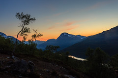 Scandinavian summer nights (PixPep) Tags: trees sunset mountains tree norway norge skandinavien scandinavia midnightsun trollheimen innerdalen pixpep