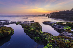 All we are chasing is the sunset (Pandu Adnyana Photography Tour) Tags: travel sunset bali beach rock indonesia landscape photography moss tour guide mengening balitravelphotography baliphotographytour baliphotographyguide balilandscapephotography