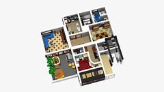 Motorgerte Fachhndler (Power Equipment Dealer) 1.0 12 (-Nightfall-) Tags: lego elevator modular moc powerequipment modularbuilding
