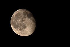 Fly me to the moon (fil.nove) Tags: moon black face night canon eos monocromo noche satellite luna astrophotography astrofotografia nocturna astronomy tamron minimalismo astronomia lunar nero notte piena cerchio sfondo faccia trama cavalletto 70300 rotondo treppiede lunare tripo 60d canon60d