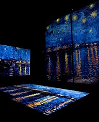 Van Gogh Alive - The Experience (elenaberruto) Tags: turin photographer photo vangogh picture experience painter beautiful blue night