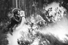 Reflection (thoma.melanie) Tags: couple lovely low prism prisma light black white blackandwhite bw grey love lovers boyfriend girlfriend girl man woman female outdoor reflection people portraiture kiss kissed leidenschaft passion lovingly romantic person persons emozioni amore paar pärchen menschen forest available availablelight amor relationship любовь bokeh soft mela prisming