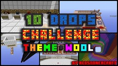 10 Drops Challenge Wool Map (KimNanNan) Tags: game video 3d games online minecraft