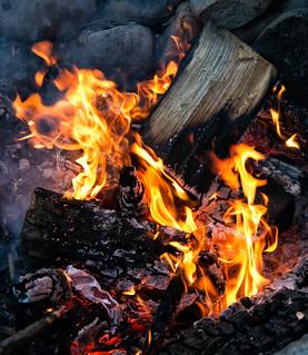 Campfire at Lake Almanor