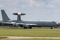 E3 Arriving RAF Coningsby (cjf3) Tags: canon e3 landed raf lincs rafconningsby
