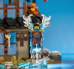 Nya the Water Phoenix (adria1223) Tags: lego ninja custom nya legominifigure legofigure legoninja legocustom ninjago legoninjago legoninjagonya waterninja legoninjagocustom ninjagocustom nyathewaterninja ninjagonya