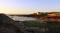 Evening Bliss (garethleethomas) Tags: sunset sea sky beach canon evening bay coast calm bliss