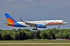 "G-LSAC Boeing 757-23A Jet2.com MAN 03-06-16 (PlanecrazyUK) Tags: egcc manchester man ringway ""manchester airport"" glsac boeing75723a jet2com 030616"