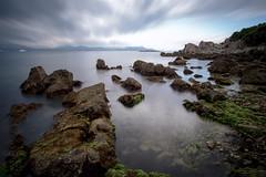 Rocks (fredMin) Tags: travel france beauty alpes rocks long exposure filter nd fujifilm 12mm antibes maritimes samyang xt1