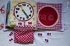 Quiet Book (8) (La Nana Handmade *Fabiola*) Tags: quiet book busy attivit children baby fabric activity sensory sensoriale preschooer asilo scuola materna