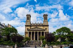 St Vincent de Paul (moltes91) Tags: paris france saint de paul nikon hyperfocal vincent 28 20mm af nikkor paroisse hyperfocale d7200