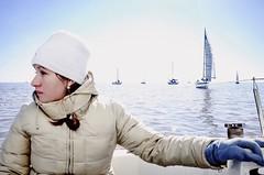 Domingo en el ro (JulianG Ph) Tags: argentina boat sailing sail regatta sailingboat