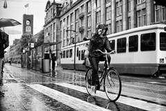 (angheloflores) Tags: street portrait people urban blackandwhite eye netherlands amsterdam candid streetphotography explore