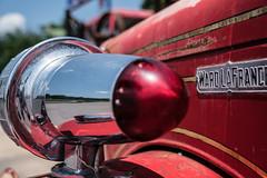 fire engine! (Eric Baggett) Tags: blue red sky perspective fireengine sonya7rii sonyfe2470mmgm