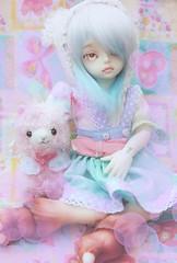 Lazy friends (la manie) Tags: bjd doll yosd soom hooves luxullia alpaca lolita pastell cute