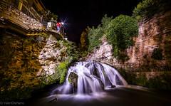 Autoportrait (Valentino de Berna) Tags: ro canon waterfall long exposure nocturna 28 larga 6d ligths fotografa exposicin cascadas cifuentes trillo 14mm samyang noctgrafos