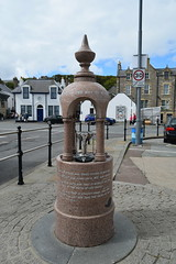 Shetland Islands.  Lerwick. The memorial fountain on the quayside.  Story details on link below. (Anne & David (Use Albums)) Tags: lerwick shetlands shetlandislands thememorialfountain