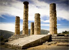 The Temple of Apollo, Delphi (roverguybm) Tags: oracle delphi greece