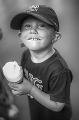 (jsrice00) Tags: boy portrait candid explore icecream 50mmf14summiluxasph leicammonochrom246