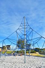 Eros Reserve San Remo (PlayRight Australia) Tags: park sanremo playgrounds corocord kompan spacenet birdsnestswing playrightaustralia