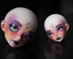 [Esoric] (Koala Krash) Tags: ball doll dolls witch circus makeup bjd fairyland joint esoteric jointed balljointdoll faceup koalakrash