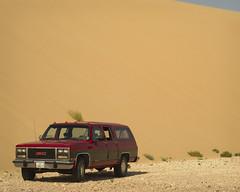 South Of Singing III (Doha Sam) Tags: summer digital sand nikon raw desert offroad suburban dunes 1991 wilderness gmc qatar burbie d80 southerndesert samagnew smashandgrabphotocom wwwsamagnewcom maketiff manualrawprocessing