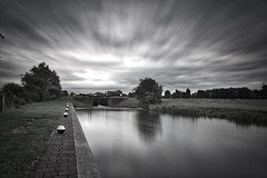 The River Side (lee_barrett007) Tags: river soar leicestershire leefilters longexposure bigstopper loughborough zouch canon5d canon black white summer mood moody