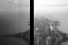 Open Window 2 (Julian Boed) Tags: sky chicago reflection window water rain out drops nikon focus open north shore skyscrapper d7100