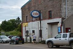 Esso, Cruden Bay Aberdeenshire. (EYBusman) Tags: esso petrol gas gasoline filling service station garage crude bay aberdeenshire scotland eybusman