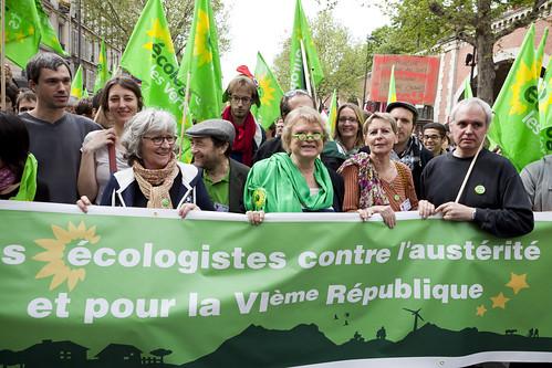 Front de Gauche Demonstration for a 6th Republic -  05May13 - Paris (France) - 35